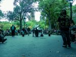A pianist in washington square park by JorgeOrtiz3