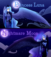 I'm the princess of the night by norang94