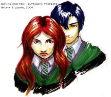 HAD - Tom and Eithne by SylviaDraws