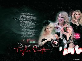 a heart from taylor swift by letschill