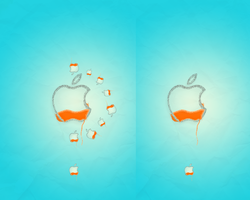 Apple - Look at Orange world by cassi94