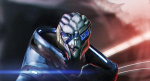 Garrus finished by RSWorkshop