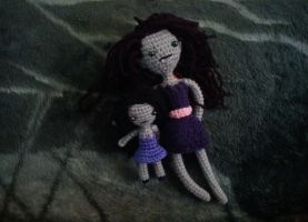 Marceline and Mini Marceline Strappie by michelle-murder