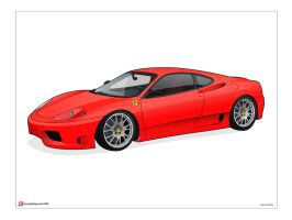 Ferrari 360 Challenge Stradale by under18carbon