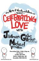 Celebrating Love Poster by punkrockDAN