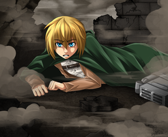 SnK - Armin by GreeNissy