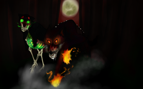Barghest and Company by madamecorvus