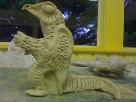 Clay Dragon hopefully stage 1 by EuphBritannia