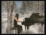 A Winters Melody by hugznstuff