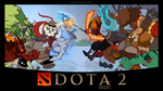 DOTA 2 TI5 Film Contest Entry - Wallpaper 01 by SkynamicStudios