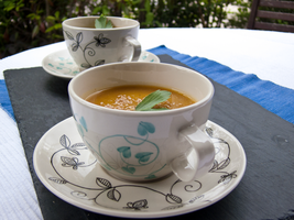Gingery Carrot Celery Root Soup by maausi