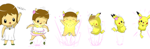 Pikachu TF sequence by selphy6