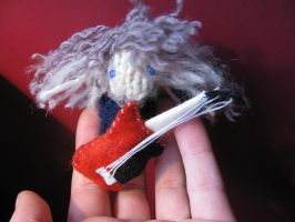 Claudio finger puppet by bolt-for-home