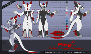 Ping the Dutch Angel Dragon 2.0 by CanineHybrid