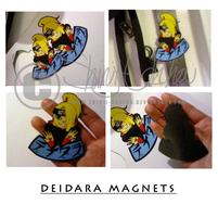 Deidara Magnets by Shinji-Uchiha