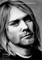 Kurt COBAIN by Sadness40