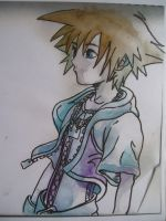 Sora drawing 3 by Kitsune-Kari