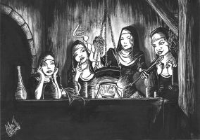 The coven by andre-ma