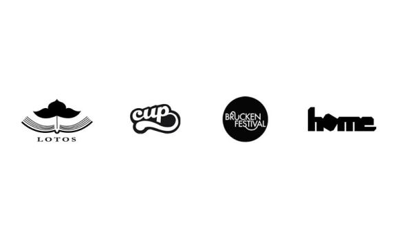 different logotypes by Lyne86