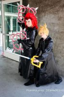 Axel and Roxas SDCC 12 by AxelFarron