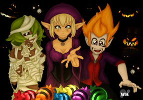 Wakfu Halloween by WhitedoveHemlock