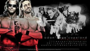 "Adam ""Edge"" Copeland Wallpaper by findmyart"