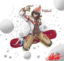 SD Snowboarder Mikhail by CrazyAsian1