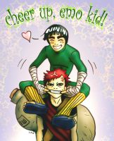 Rock Lee Says... by lorraine-schleter