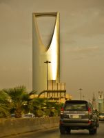 King Fahad Road, Riyadh by midwatch