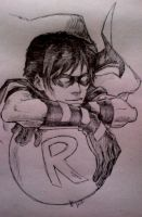 Robin-sketch by ArikaTwins