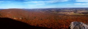 Bake Oven Knob Panorama by deadheir