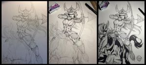 Samurai Progress by wayner8088