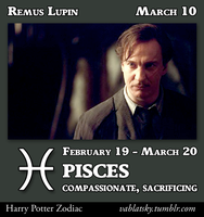 Remus Lupin - Pisces by GeorgeWiseman