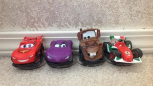 Disney Infinity Cars figures by Prince5s