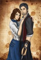 Elizabeth and Booker. by artissx