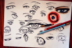 eyes progress by DoreiShounen
