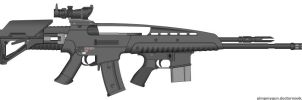 Prototype-R7119 Rifle by S119-Exereial