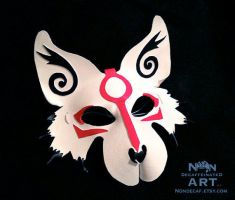 New Style Okami Mask by nondecaf