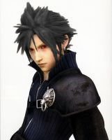 Cloud Strife Black Hair by RyuMakkuro