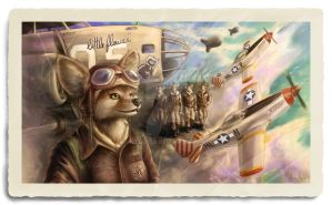 AIRFORCE WWII final by Azedo-DA