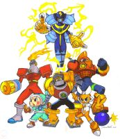 Megaman NT warrior Bosses 1 by troach31282