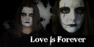 The Crow: Love is forever by HARLEYMK