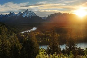 Snake River by porbital