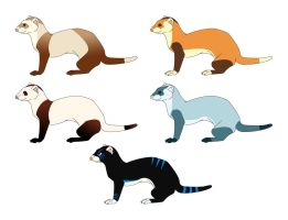 Ferret Pointables by HDevers