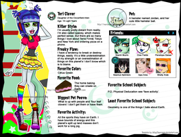 Tori Clover Profile Bio by MarianasMasterpiece