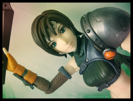 yuffie. by Super-Seme-Riku
