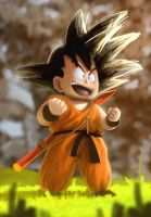 Goku by chrisnomi