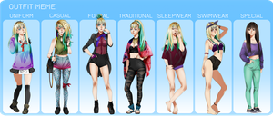 [MM] Outfit Meme by Eeriah