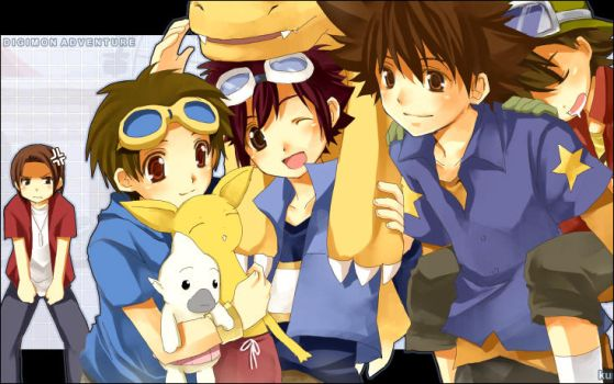 Digimon Adventure - Side A by kurot