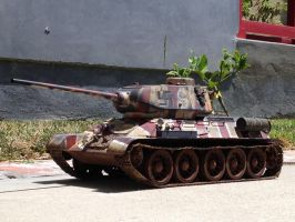 T34- re-service for Finland (shots) by foley1310